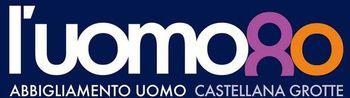 Logo L'Uomottanta boutique uomo a Castellana Grotte - Bari