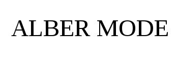 Alber Mode