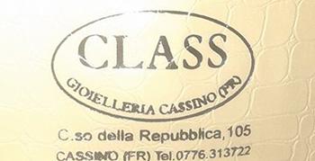 Logo Class Gioielleria - Cassino provincia di Frosinone