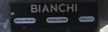 Logo Gioielleria Bianchi - Milano