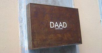 Logo Daad Dantone boutique uomo donna Milano