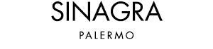 Logo Sinagra boutique, abbigliamento uomo donna, calzature, profumi a Palermo