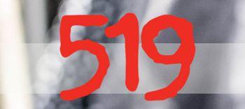 Logo 519 boutique donna a Verona