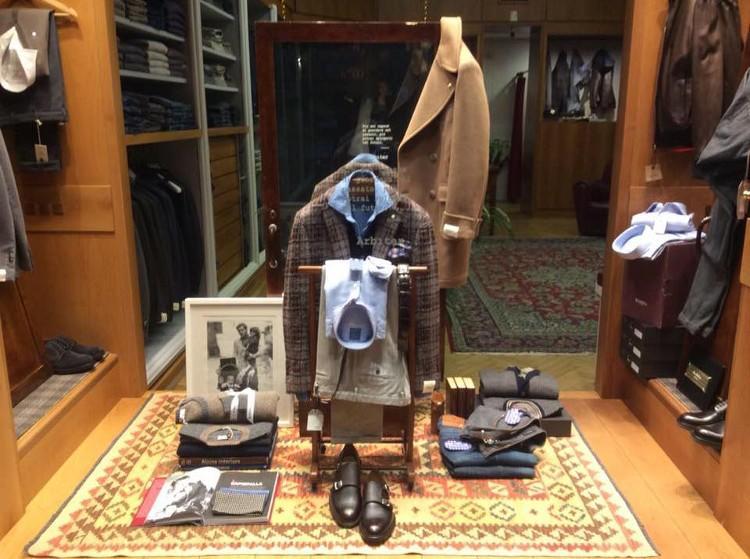 Arbiter abbigliamento uomo Parma