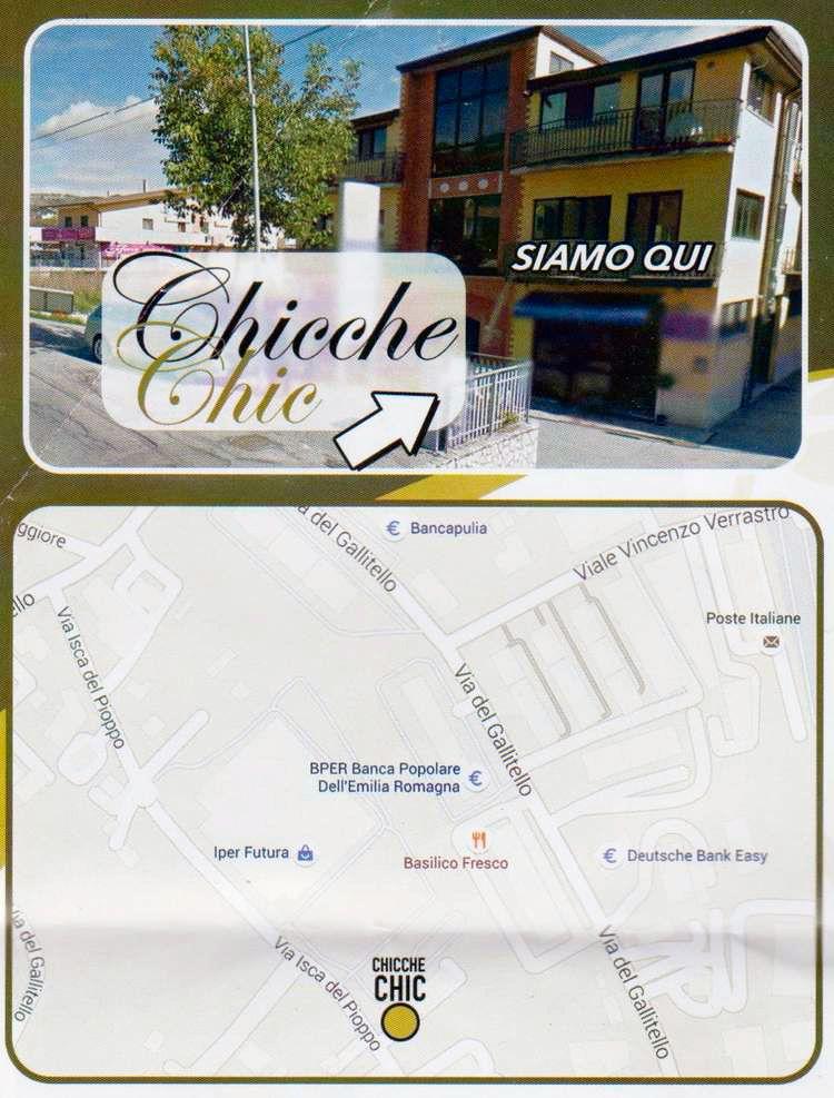 Chicche-Chic-mappa