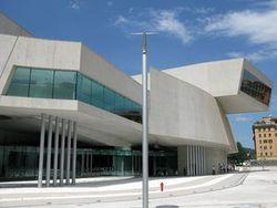 Maxxi museo nazionale delle arti del xxi secolo roma for Biblioteca maxxi