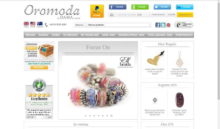 Oromoda.net gioielleria online