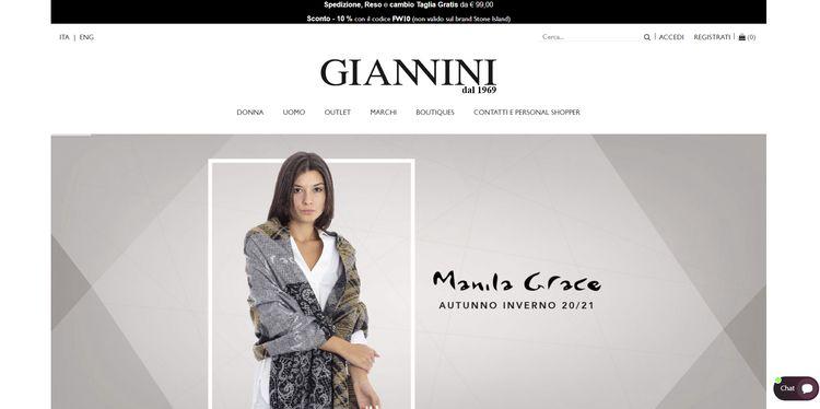 Sito Giannini Shop Online